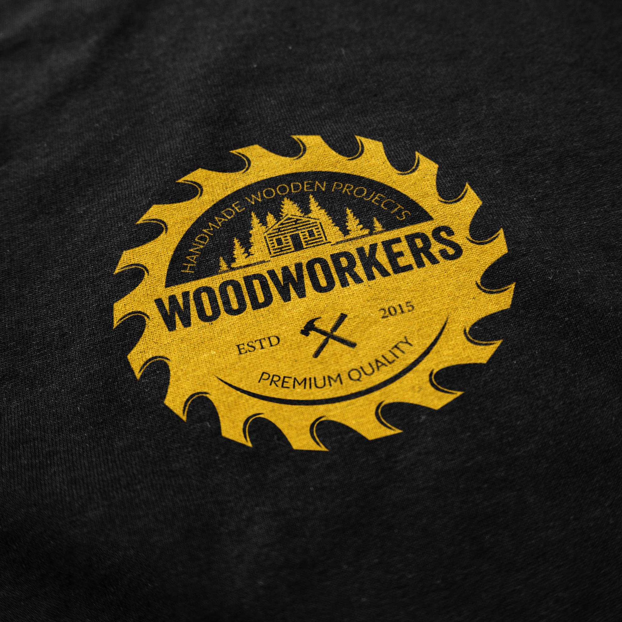 Woodworkers Logo Design